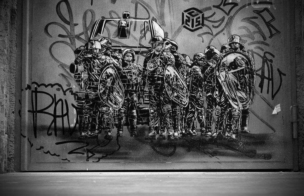 > Street art dans le quartier de San Lorenzo à Rome - Photo de Marek Edelman.