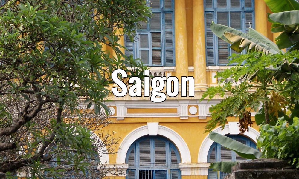 Visiter Saigon au Vietnam pendant un week-end ou plus.
