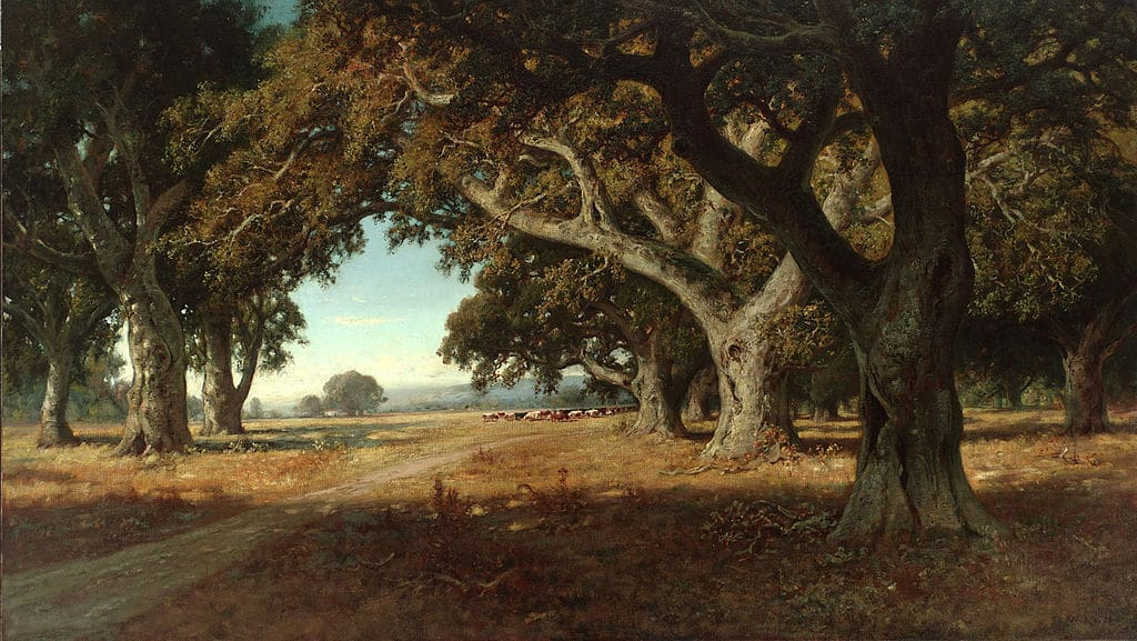 """California Ranch"" de William Keith (1898) au Young Museum de San Francisco."