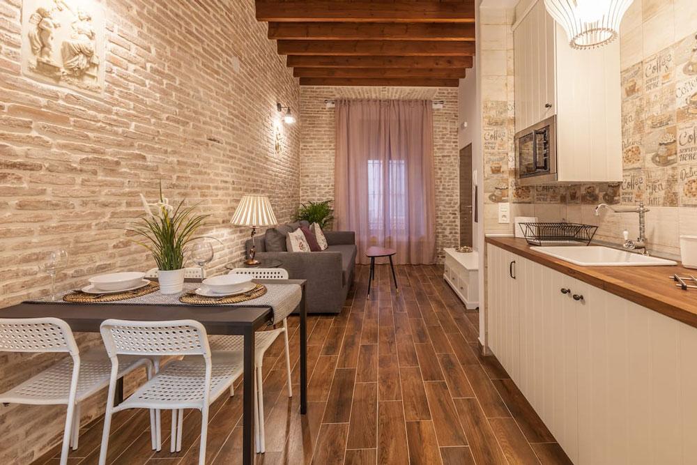 Airbnb à Séville : Appart dans le quartier branché.
