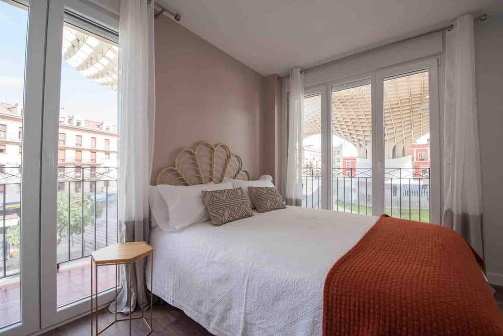 Airbnb à Séville : Location moderne dans le centre.