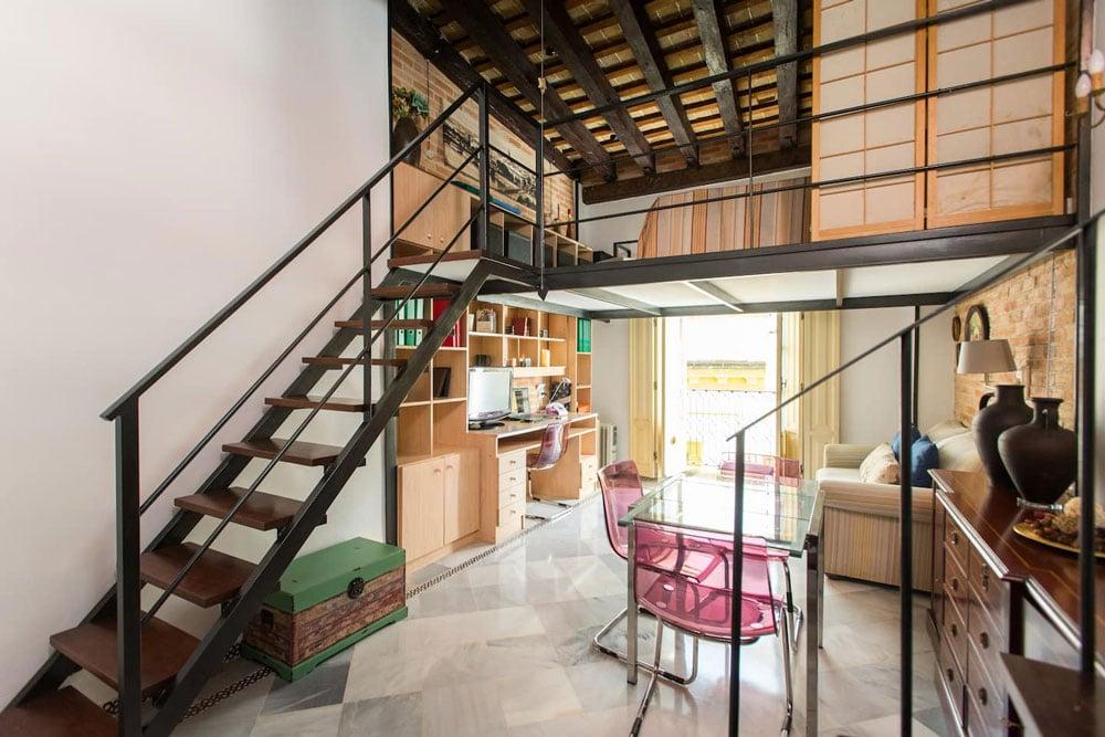 Airbnb à Séville : Appartement avec rooftop dans le centre historique.