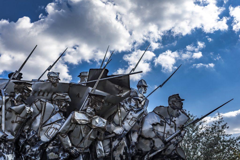 Du côté du musée des statues communistes à Budapest ou Memento Park.