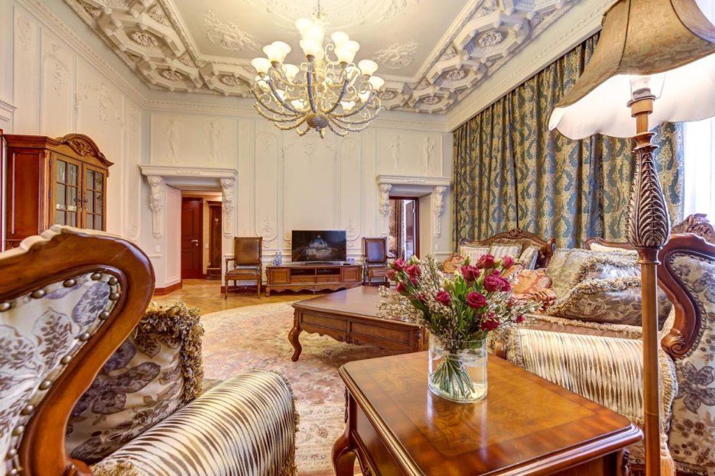 Hotel de luxe à Saint Petersbourg : Hotel Akyan.