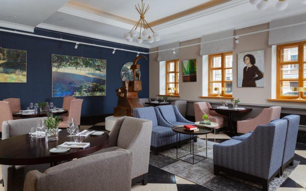 Hotel de luxe à Saint Petersbourg : Solo Sokos Hotel Vasilievsky.