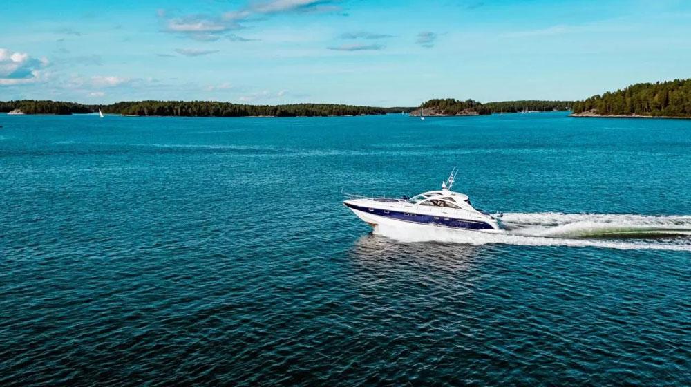 Hébergement dans un yacht à Stockholm.