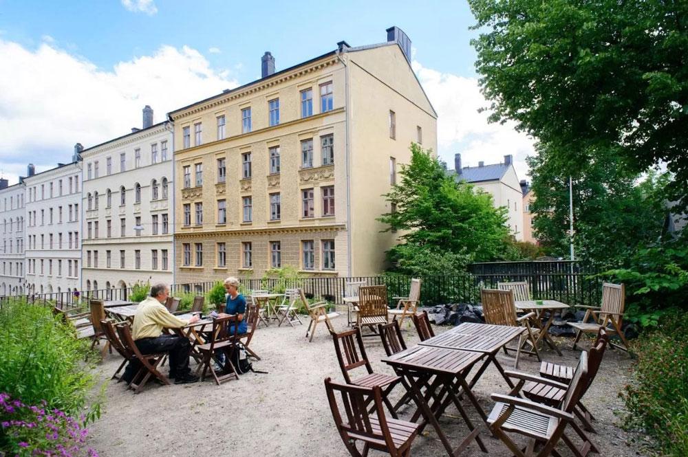 Hellstens-Malmgård, hôtel pas cher à Stockholm.