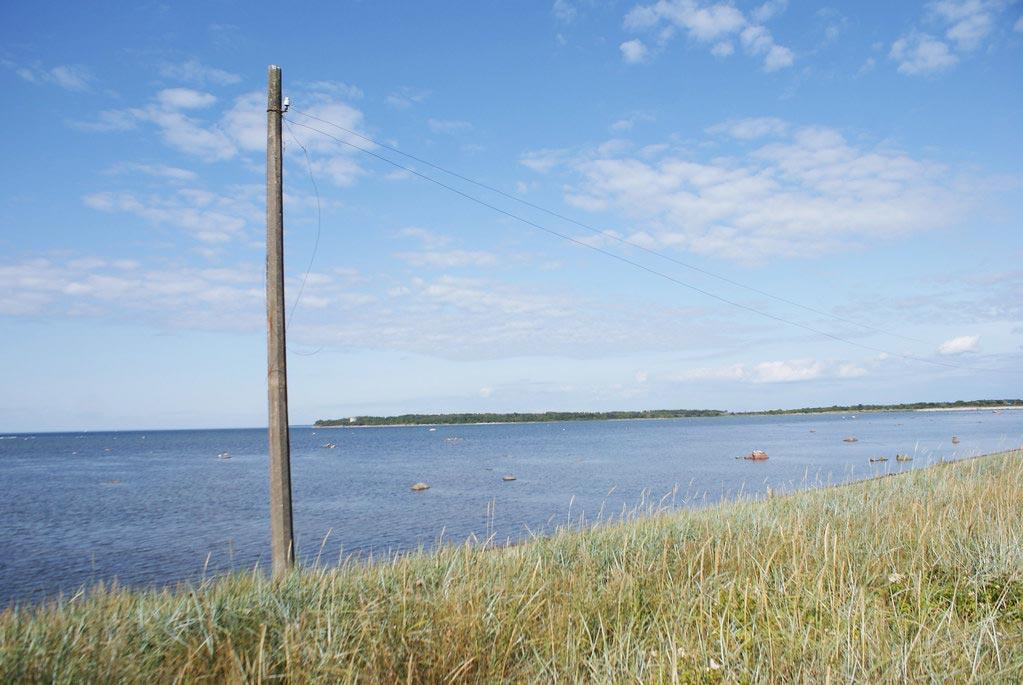Tallinn bord de mer à l'ouest de la ville.
