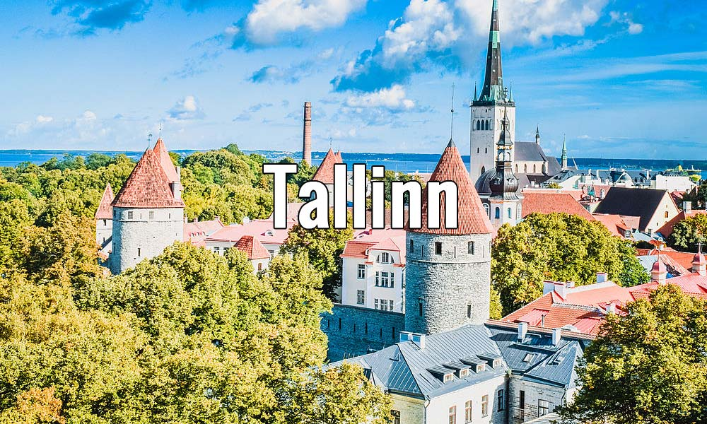 Visiter Tallinn en Estonie pendant un week-end ou plus. Photo de Sami C