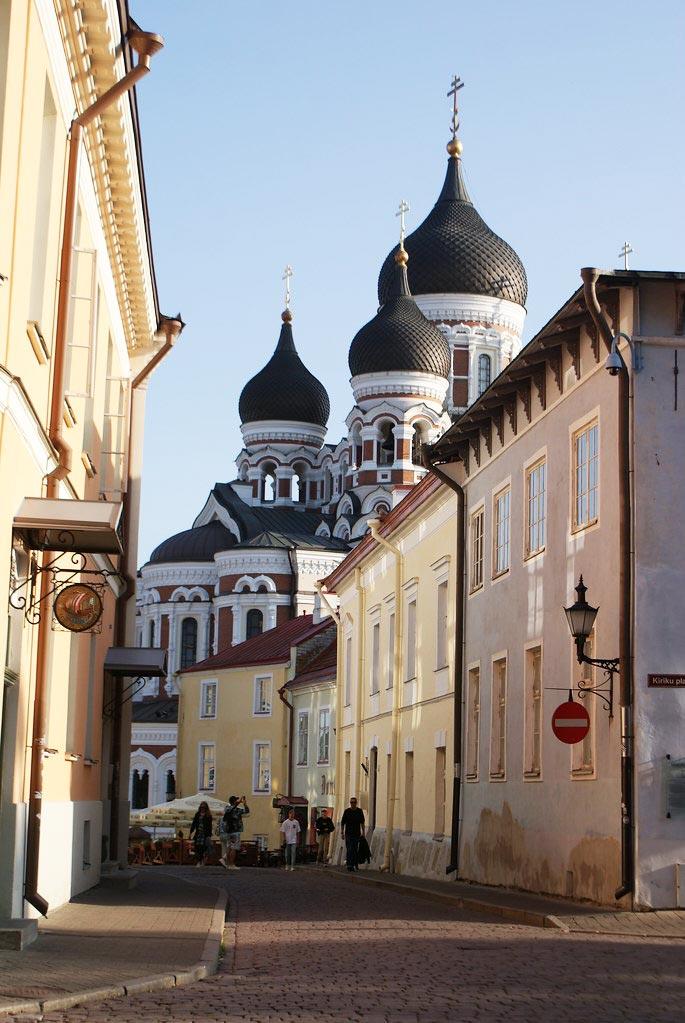 Cathédrale Nevsky à Tallin en Estonie.