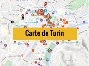 Carte de Turin (Italie) : Plan détaillé gratuit et en français à télécharger