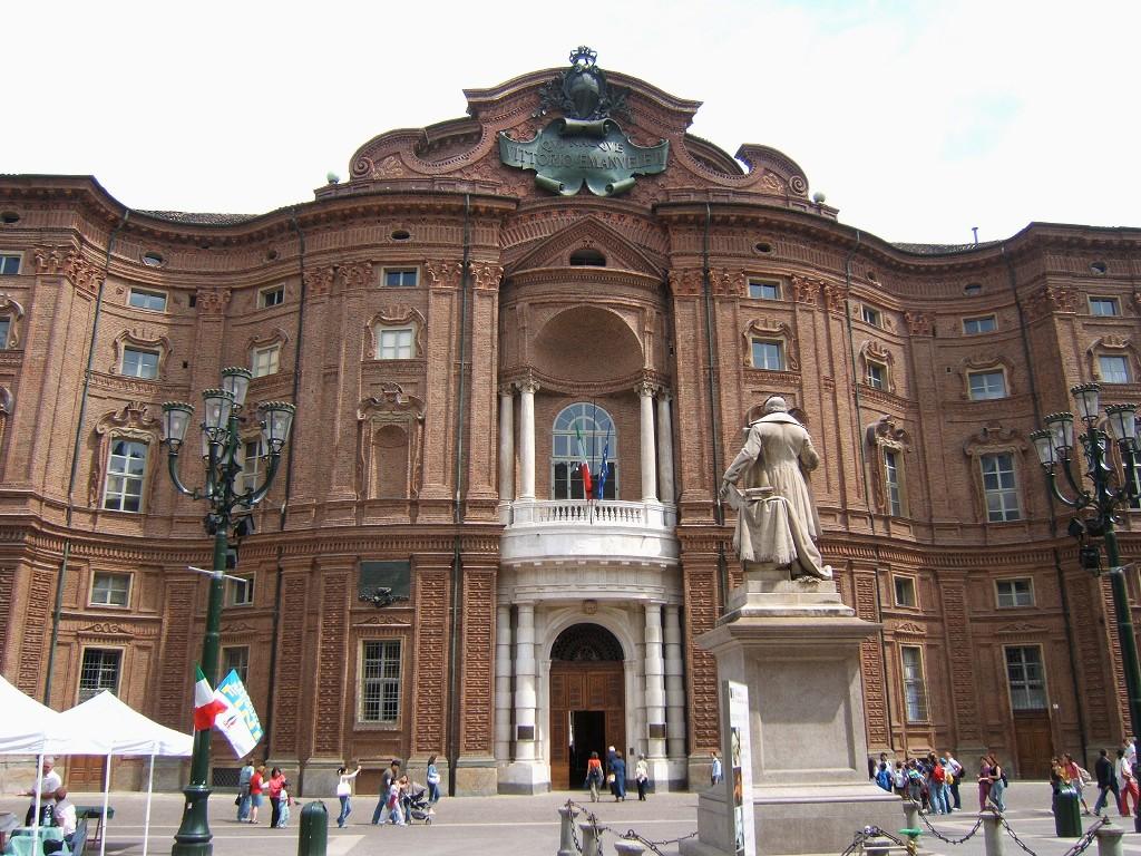 Musée de la réunification italienne dans le centre historique de Turin.