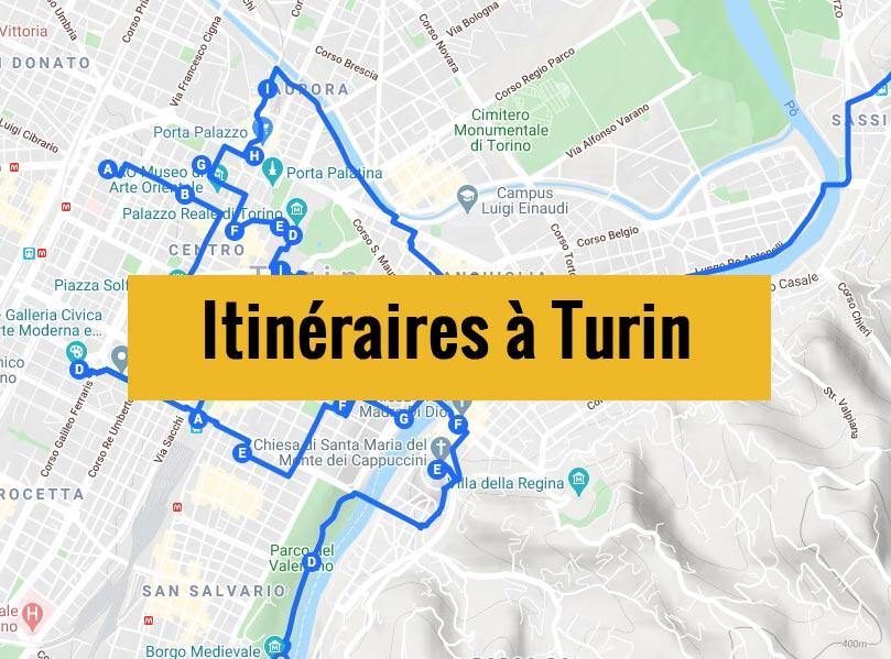 Itinéraires à Turin en Italie pour un week-end de 2, 3 jours ou plus.