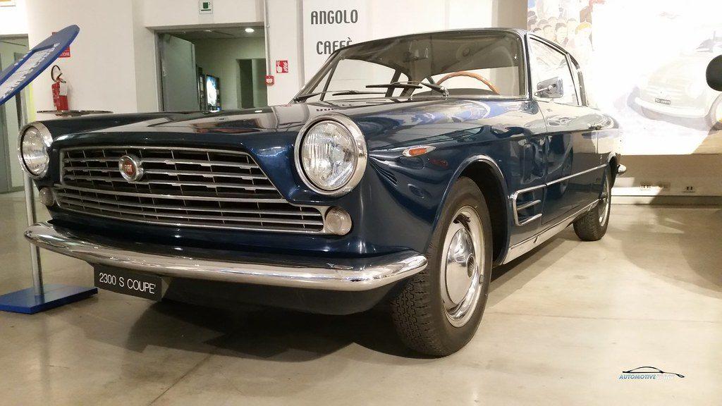 Musée insolite de Turin : Centre historique de Fiat avec une Fiat 2300 S coupé