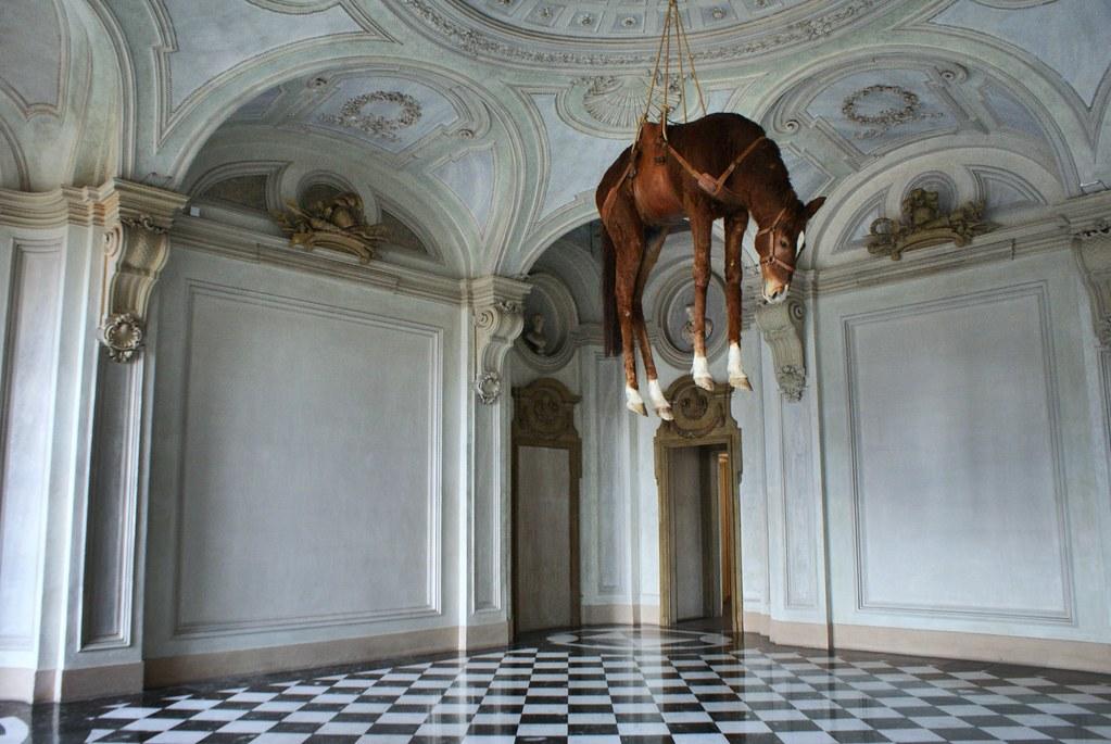 Surprenant musée d'art contemporain Rivoli près de Turin