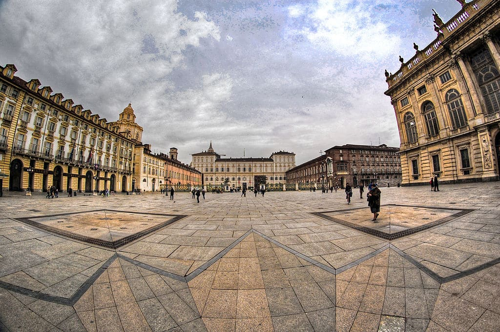 Centre de Turin : Quartier de la Vieille Ville