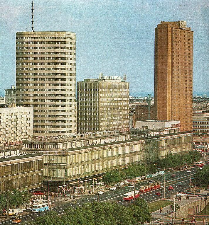 Architecture moderne à Varsovie : Styles et constructions du 20e siècle