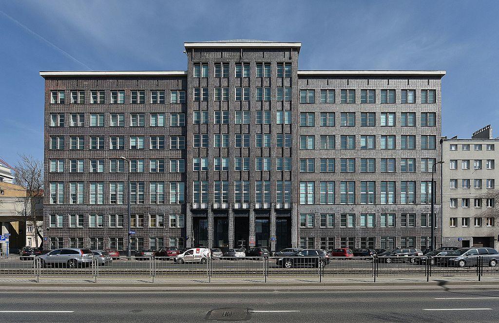 Architecture moderniste : Gmach Ministerstwa Komunikacji - photo de Adrian Grycuk
