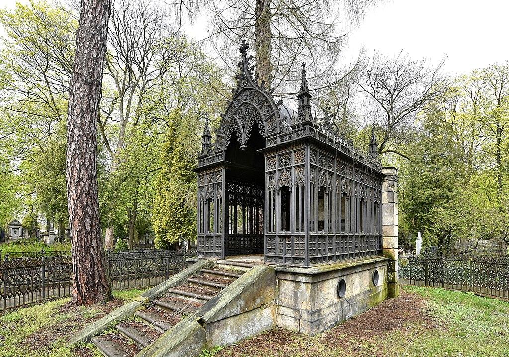 Mausolée de la famille Braeunig au cimetière évangélique de Varsovie - Photo d'Adrian Grycuk
