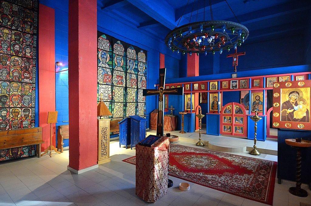 Musée des icônes et chapelle orthodoxe de św. Grzegorza Peradze à Varsovie - Photo d'Adrian Grycuk