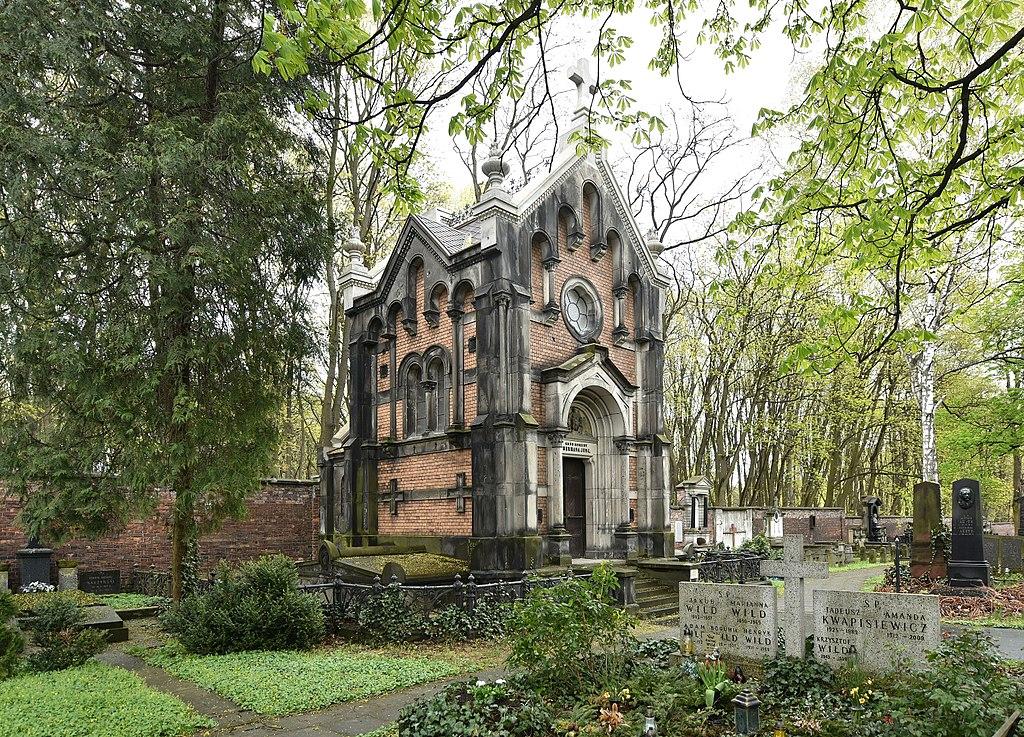 Mausolée de Herman Jung au cimetière évangélique de Varsovie - Photo d'Adrian Grycuk