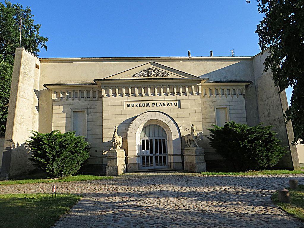 Extérieur du musée des affiches à Wilanow au sud de Varsovie - Photo de Mister No