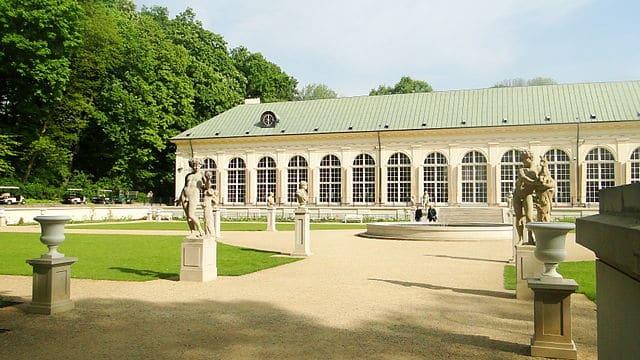 Orangerie du parc Lazienki à Varsovie. Photo de Mateusz Giełczyński.
