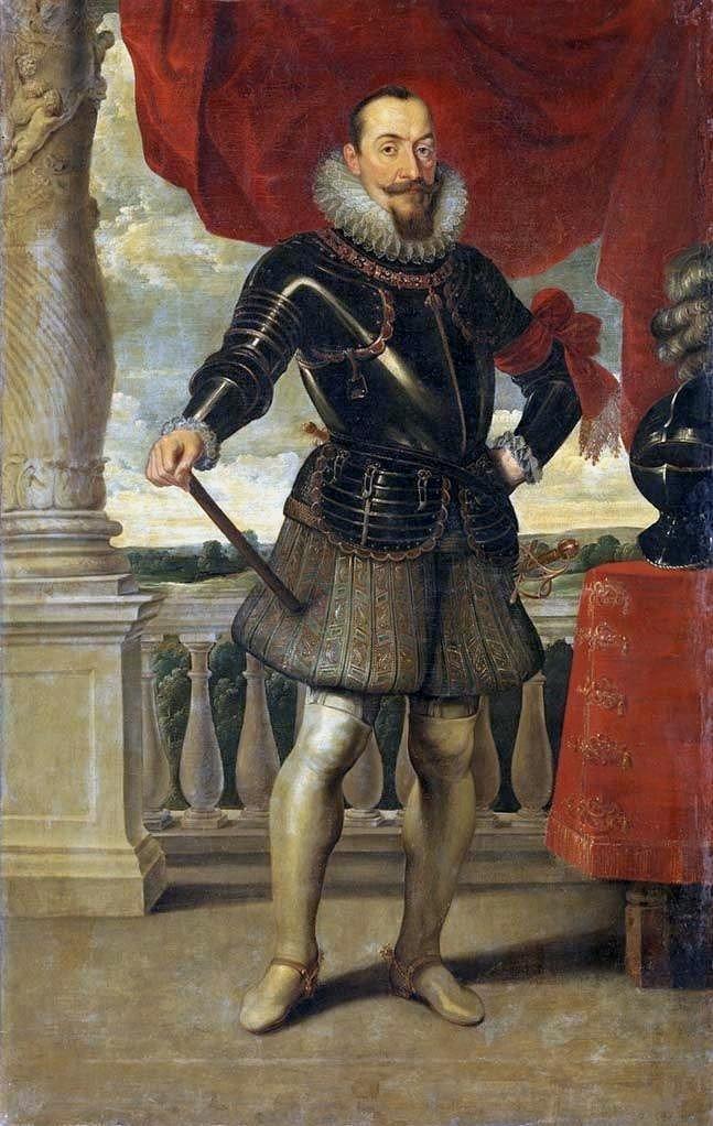 Portait du roi de Pologne Zygmunt III Vasa par Piet Soutman (1620).