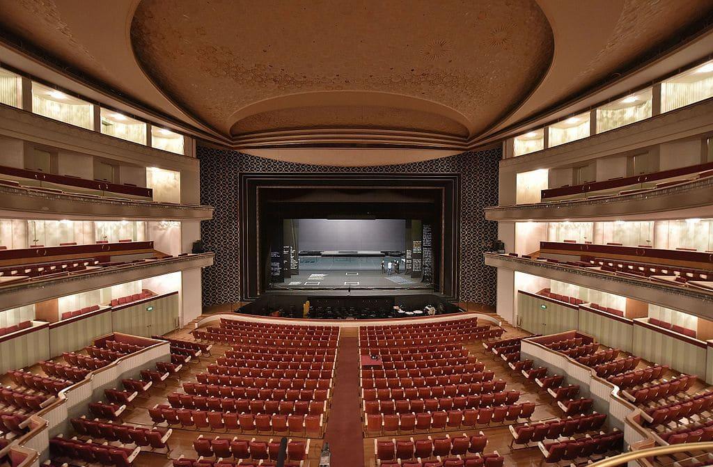 Dans la salle Moniuszko du Grand théâtre ou Wielki Teatr à Varsovie - Photo d'Adrian Grycuk