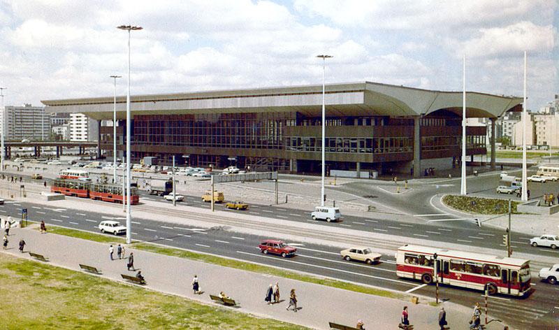 Architecture moderniste de Varsovie : La Gare Centrale.