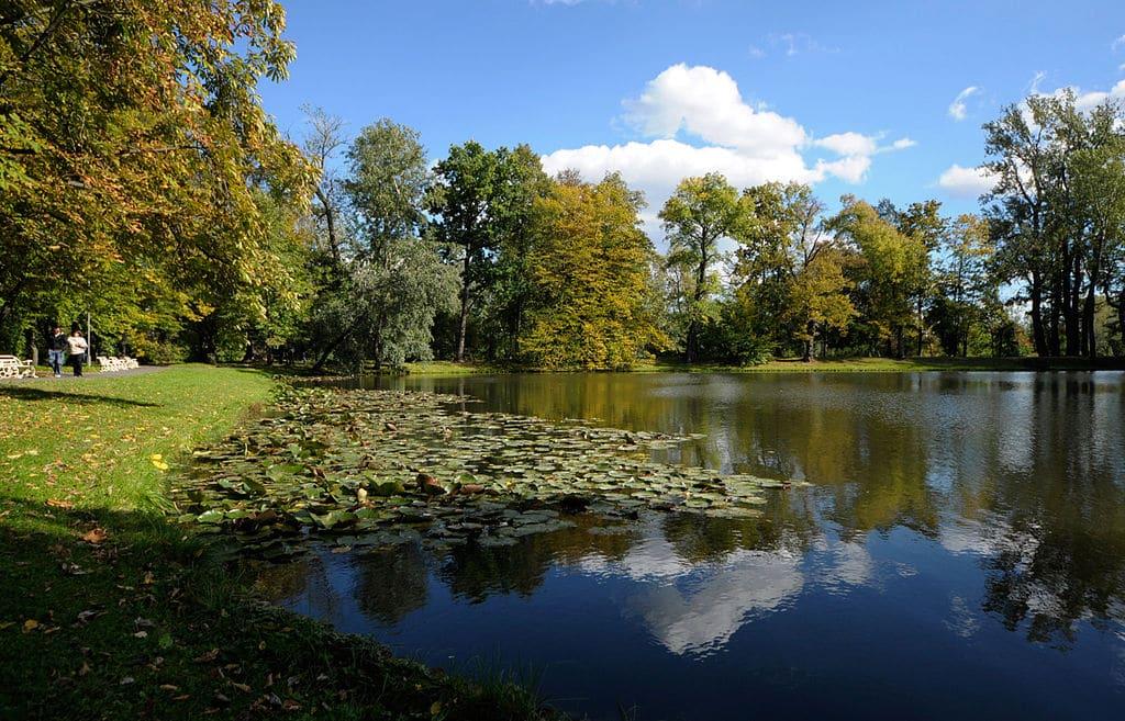 Dans le parc de Wilanow à Varsovie - Photo de ZeroJeden