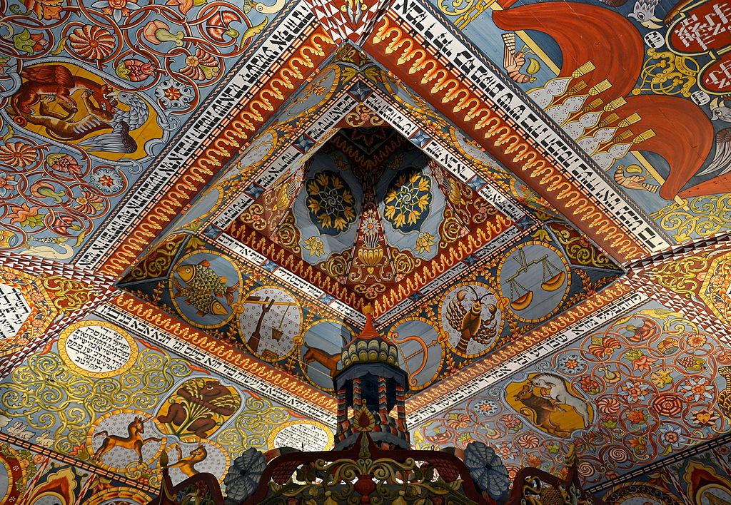 varsovie Warszawa_-_synagoga_z_Gwoźdźca_pudelek