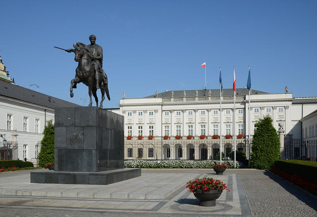 Palais présidentiel à Varsovie - Photo de Marcin Białek