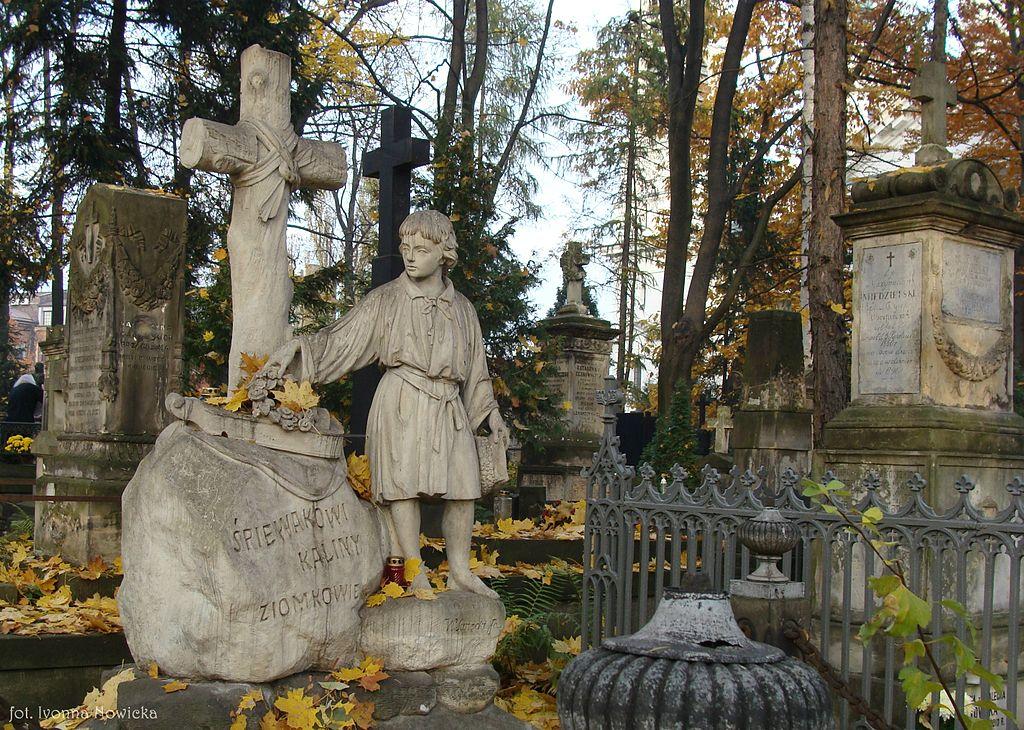 Cimetière Powązki dans le quartier de Wola à Varsovie - Photo de Ivonna Nowicka