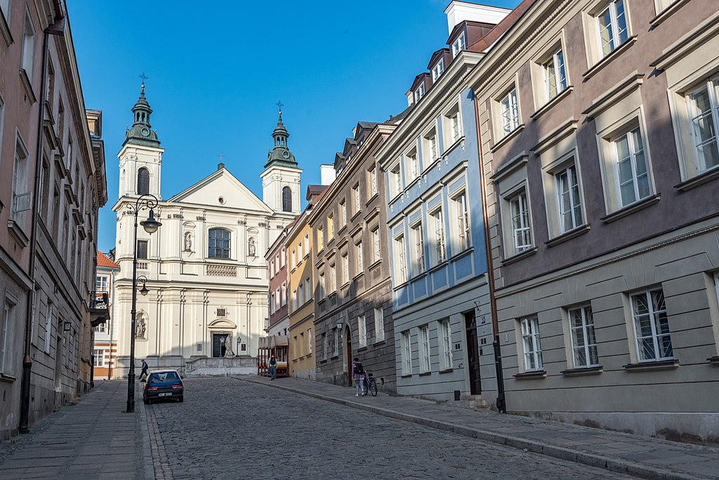 Rue Długa dans la Nouvelle Ville de Varsovie - Photo de Tilman2007