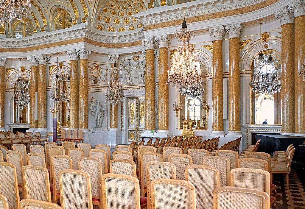Grande pièce de l'assemblée dans le Palais Royal de Varsovie - Photo de Dennis Jarvis