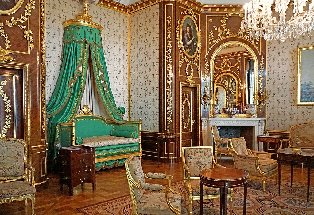 Chambre royale au Palais Royal de Varsovie - Photo de Dennis Jarvis