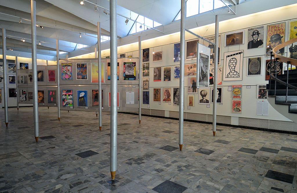 Dans le musée des affiches de Varsovie - Photo d'Adrian Grycuk
