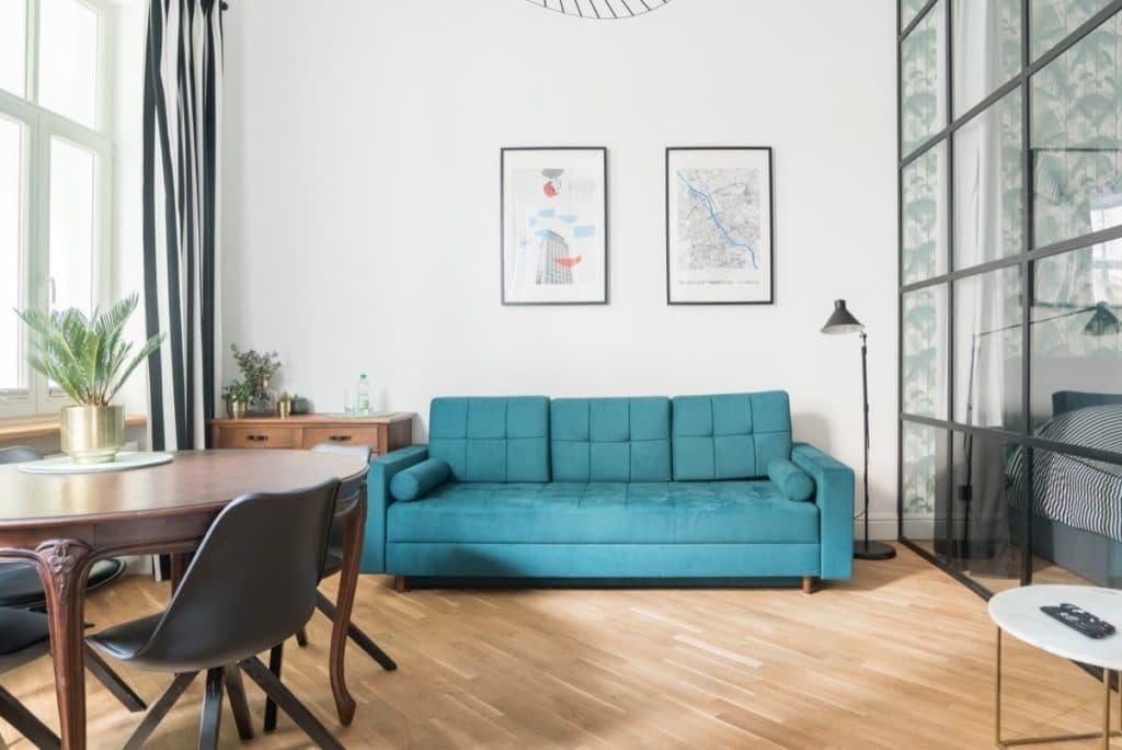 Appartement de Kasia et Pawel à louer à Varsovie sur Airbnb.