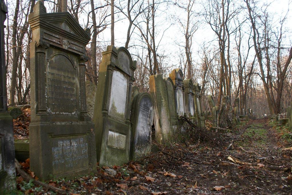 Impressionnant cimetière juif de Varsovie na Okopowej [Wola]