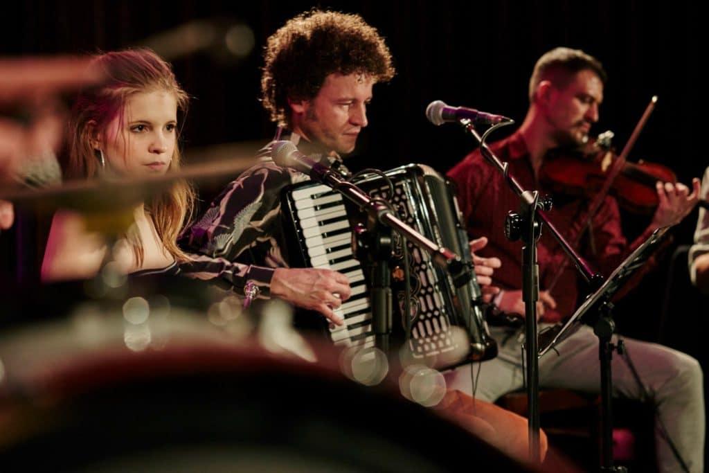 Concert folk au DZIk à Varsovie.