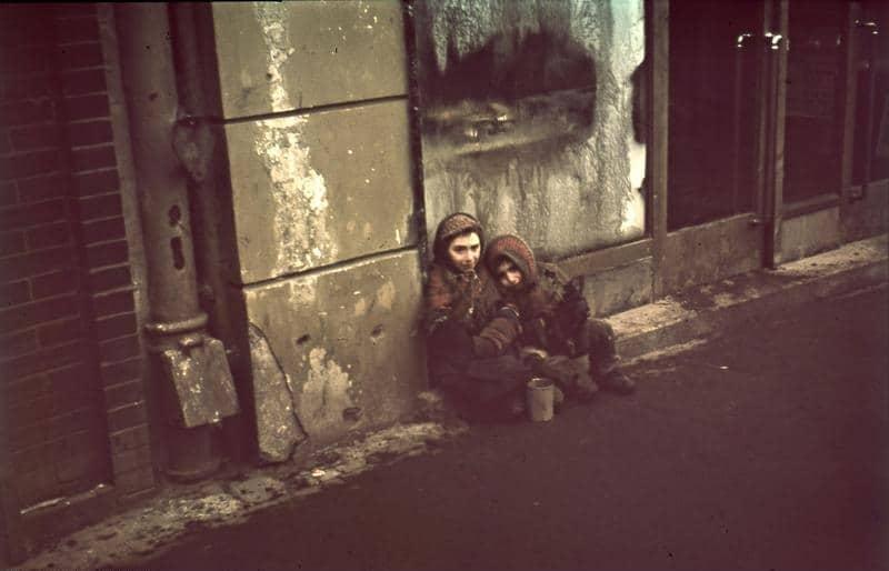 Enfants du ghetto de Varsovie.