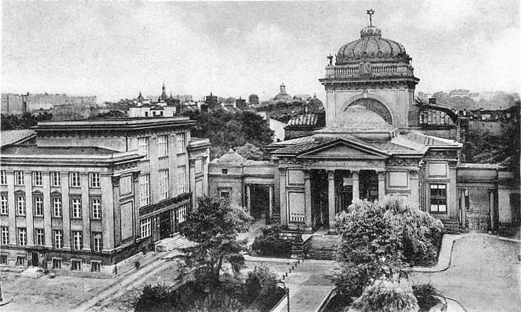 La Grande Synagogue de Varsovie vers 1880 (?).