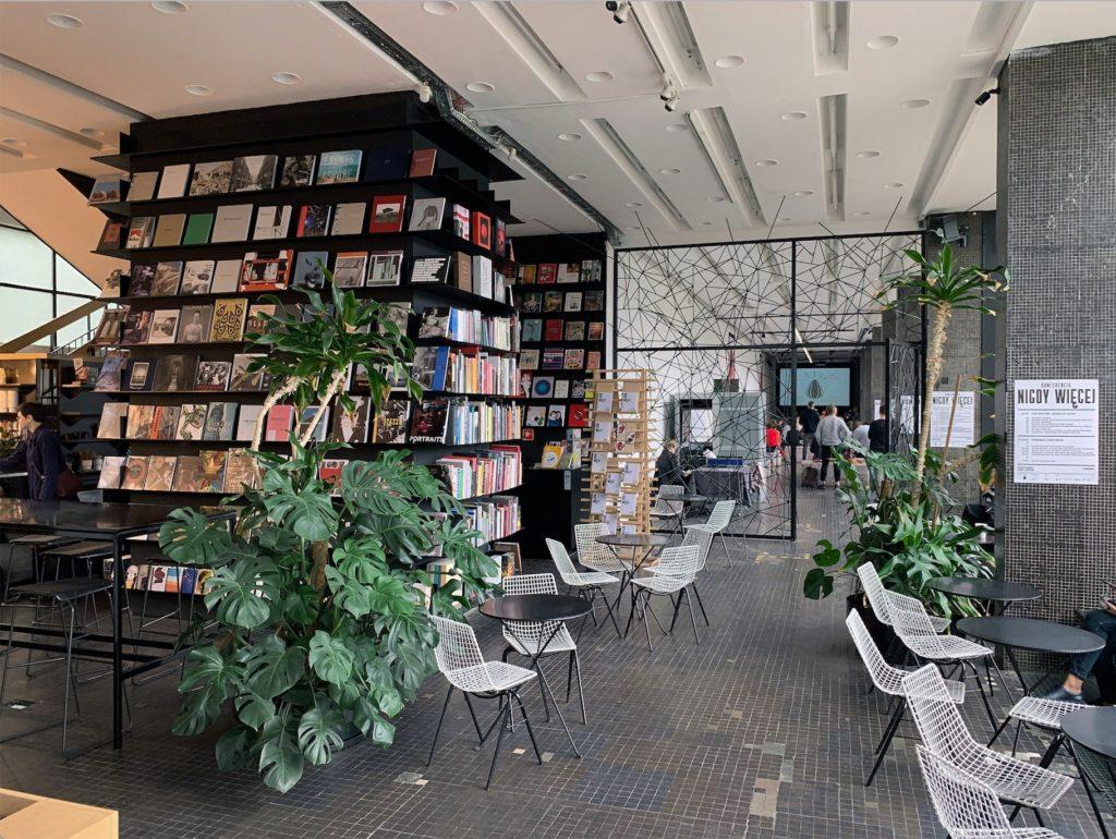 Librairie Bookoff à Varsovie.