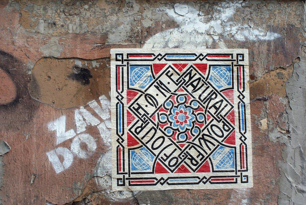 Street art ailleurs dans le quartier de Mariensztat à Varsovie - Photo de Jolanta Dyr