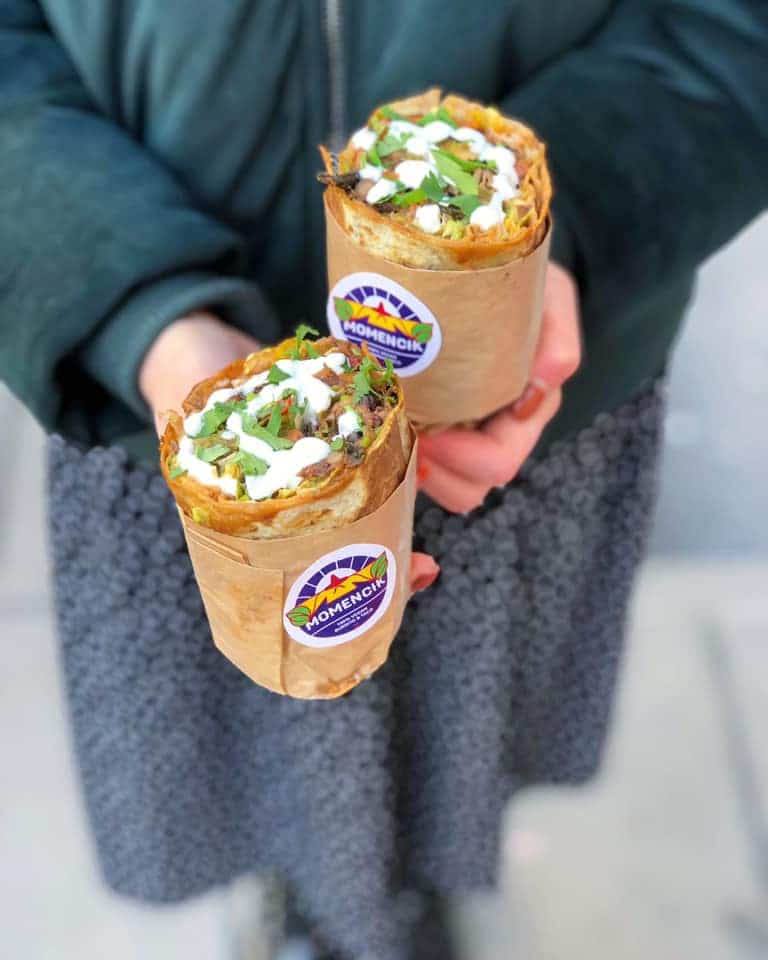 Momencik à Varsovie : burritos, tacos et nachos végétaliens !