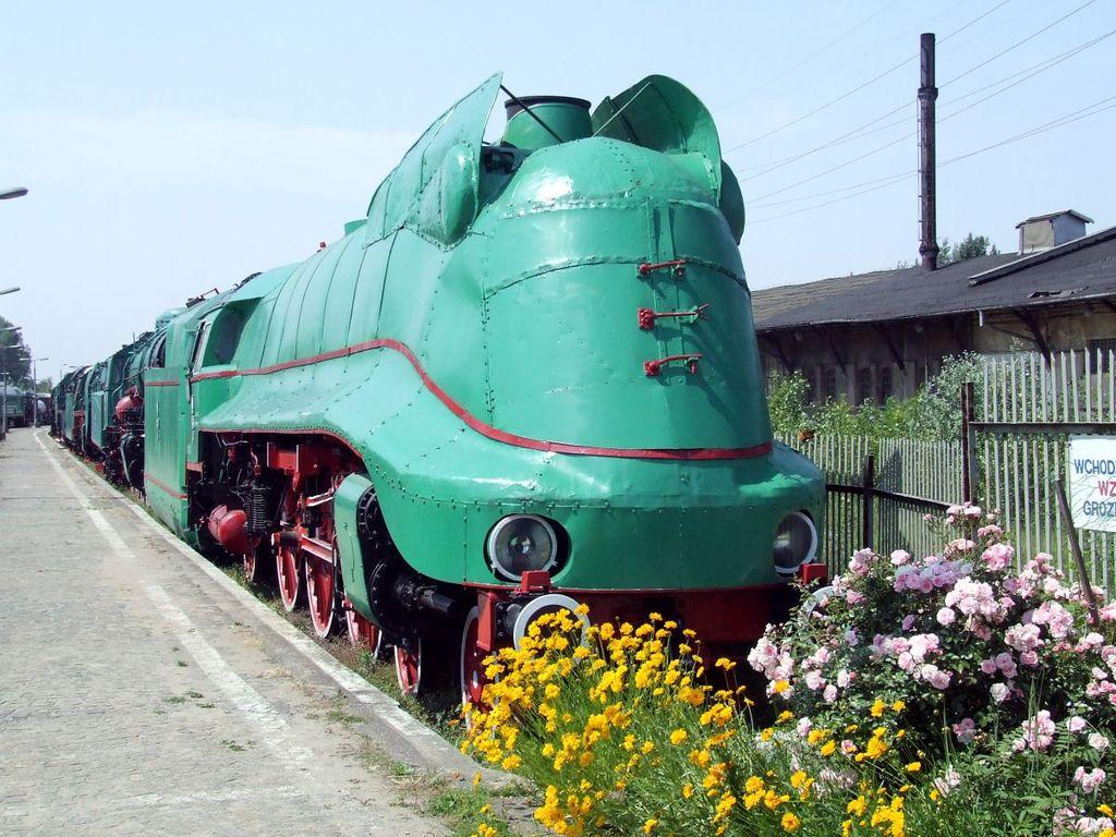 Train de l'Allemagne nazie dans le musée du train de Varsovie - Photo de Hubert Śmietanka