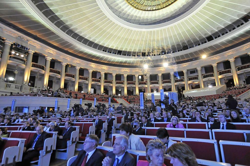 A l'intérieur de la Salle des congrès du PKiN à Varsovie - Photo de l'European People's Party