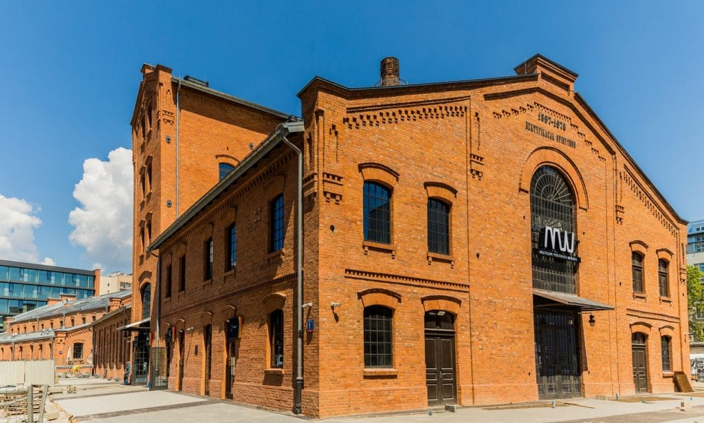 Musée de la vodka polonaise dans le quartier de Praga à Varsovie.
