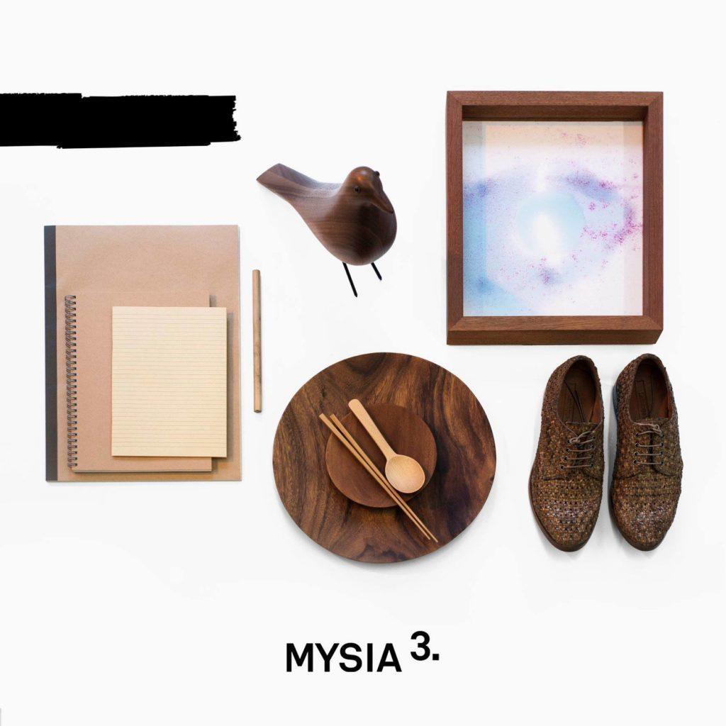 Dans le centre commercial dédié à la mode et à la déco notamment Mysia 3 à Varsovie.